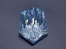 水晶系列by blender