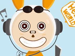 太空兔-旅游不了啊!