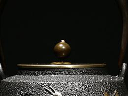 【沐焱堂】  三羊开泰铁壶 铸铁 鎏金无涂层纯铁煮茶 养生茶壶出口日本