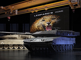 COURAGE -LEOPAD 2 MAIN BATTLE TANK