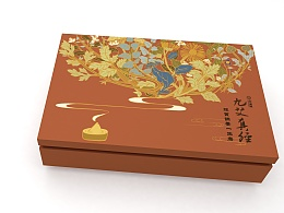 艾灸礼盒包装设计