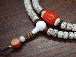 DIY玛瑙、琉璃配珠星月菩提手串