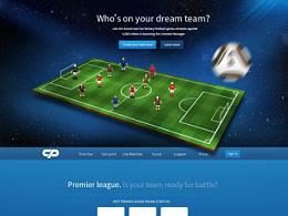 足球竞技类 页面