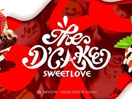 D'CAKE 蛋糕工作室logo方案