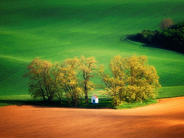 Rolling Hills in Moravia