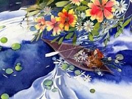 幻旅---水彩手绘过程