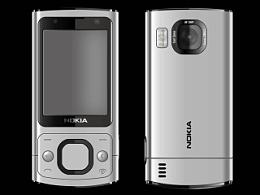 手机诺基亚6700s AI效果图