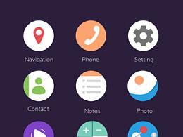 手机界面UI_临摹练习