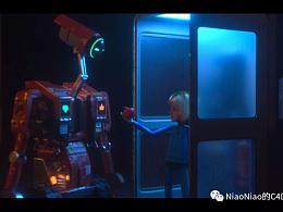 一个关于机器人与小女孩的故事