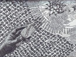 《莲生娑婆》手绘过程