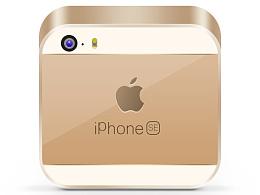 iphone se 图标练习临摹