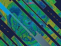 《图腾的世界》清穗和罗锦波的一本叙事图集