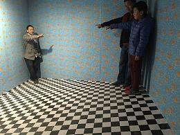 渭南华阴旅游景区原创3D立体画梦幻森林主题大型3D魔幻画展