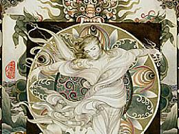 早夭的父魂---卢波手绘工笔插画之一