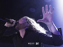 瑞典旋律死亡金属乐队 DarkTranquillity 2014年中国巡演北京站现场组图