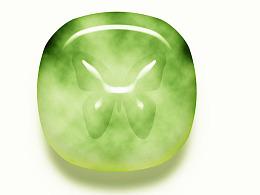 玉石质感图标