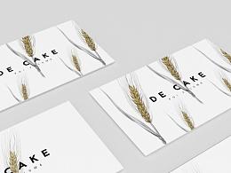 福建《DE CAKE》品牌设计