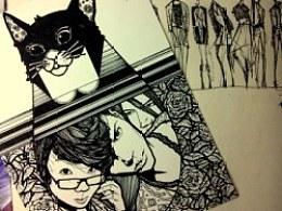 服装速写及时装画