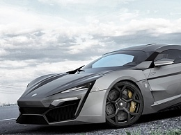 lykan hypersport 渲染
