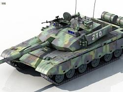 中国主战坦克99B