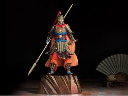 铜师傅 全铜摆件《五虎上将之赵云》 铜工艺品 客厅摆件