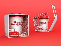 Wheelys咖啡外卖包装设计