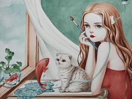 与猫咪生活的想象