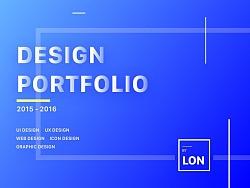 Lon's Design Portfolio 个人作品集