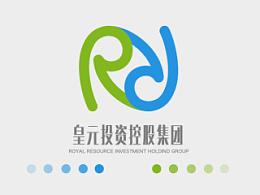 皇元投控集团 logo设计