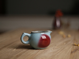 白伟锋 公道自在人心 茶道实用器具 公道杯 器世界精品钧瓷茶具 钧窑 钧瓷公道杯系列
