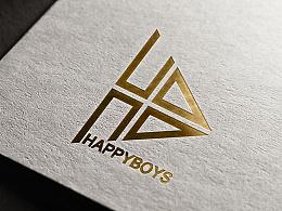 HAPPYBOYS组合LOGO设计