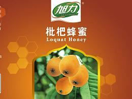 蜂蜜标签设计/平面网页设计/广告平面/宣传单