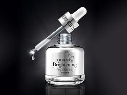 化妆品设计、化妆品包装设计、亮肤细致嫩肤原液包装设计、捷登设计