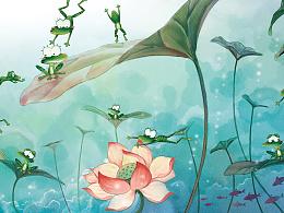 小青蛙的音乐会
