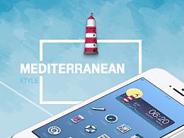 Mediterranean Style 地中海主题图标