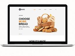 一家面包店的首页