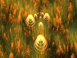 分形(Fractal)第二十二辑:风吹麦浪及其它