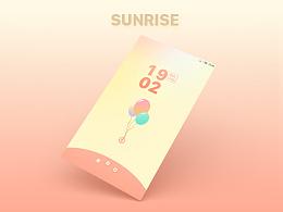 原创作品:小米主题MIUI-sunrise