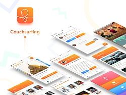 couchsurfing redesign   by Max雅雅车