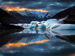 风光 - 一个冰川的早晨 - 三群 - Joyce He