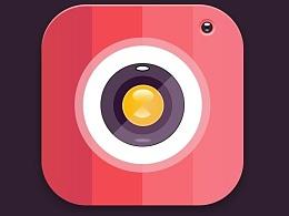 粉红相机图标