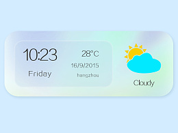 天气图标 中文英文