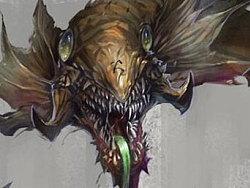 游戏角色原画设计-蛇蝎怪
