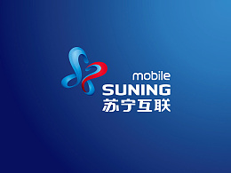 苏宁互联品牌logo设计