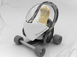 《电动单人代步车》 邱塬 中国美术学院上海设计学院#青春答卷2015#