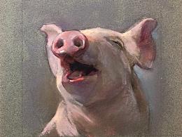 色粉猪猪( ̄(●●) ̄)