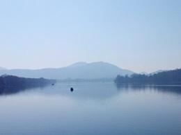 一月西湖风景(拍摄装备:联想S820智能手机)