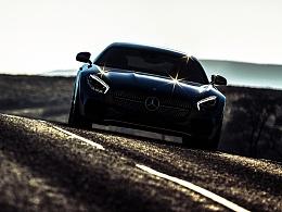 CGI汽车摄影Meredes Benz AMG GTs
