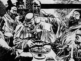 《楚汉之战》连环画·Page7、8