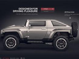 Jeep 汽车网站练习